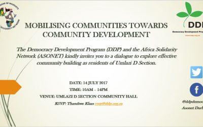 Durban Umlazi Dialogue
