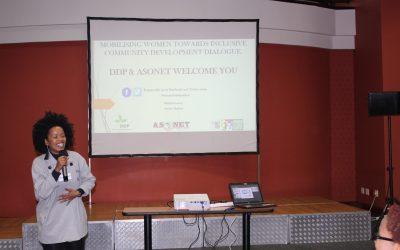 Mobilising Women Towards Inclusive Community Development dialogue