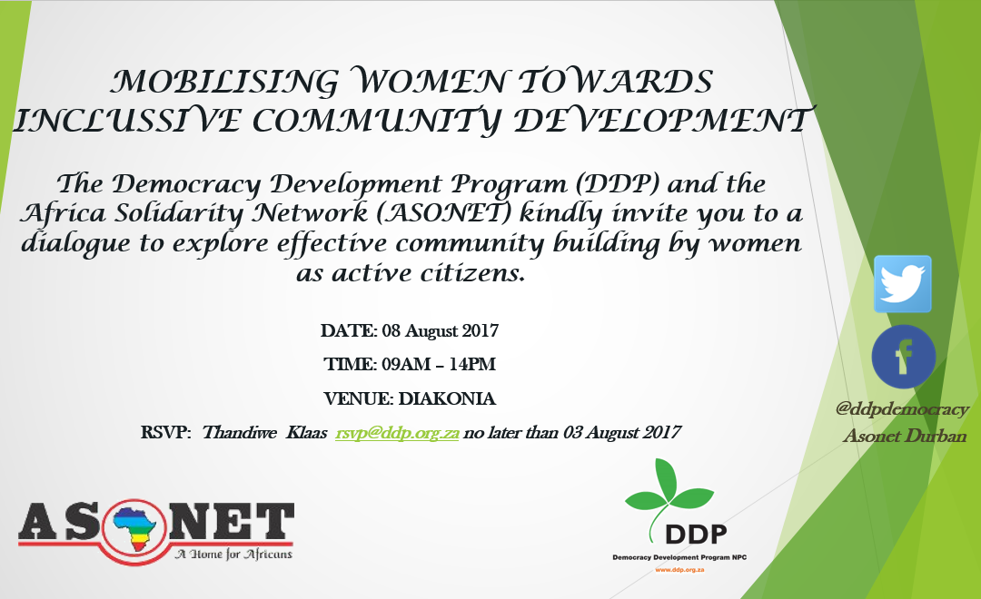 Mobilising Women Towards Inclusive Community Development