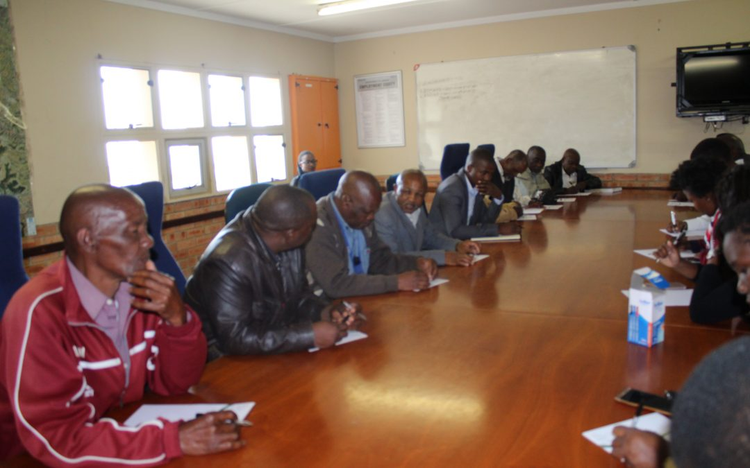 Meeting With Traditional Leaders