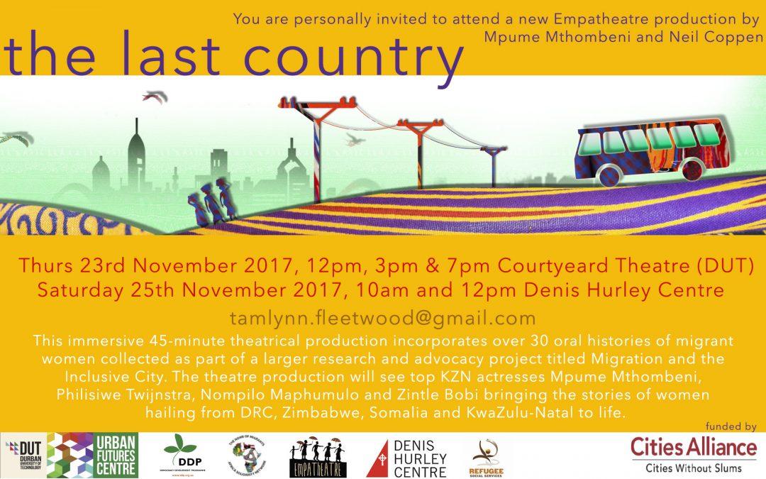 The Last Country invitation